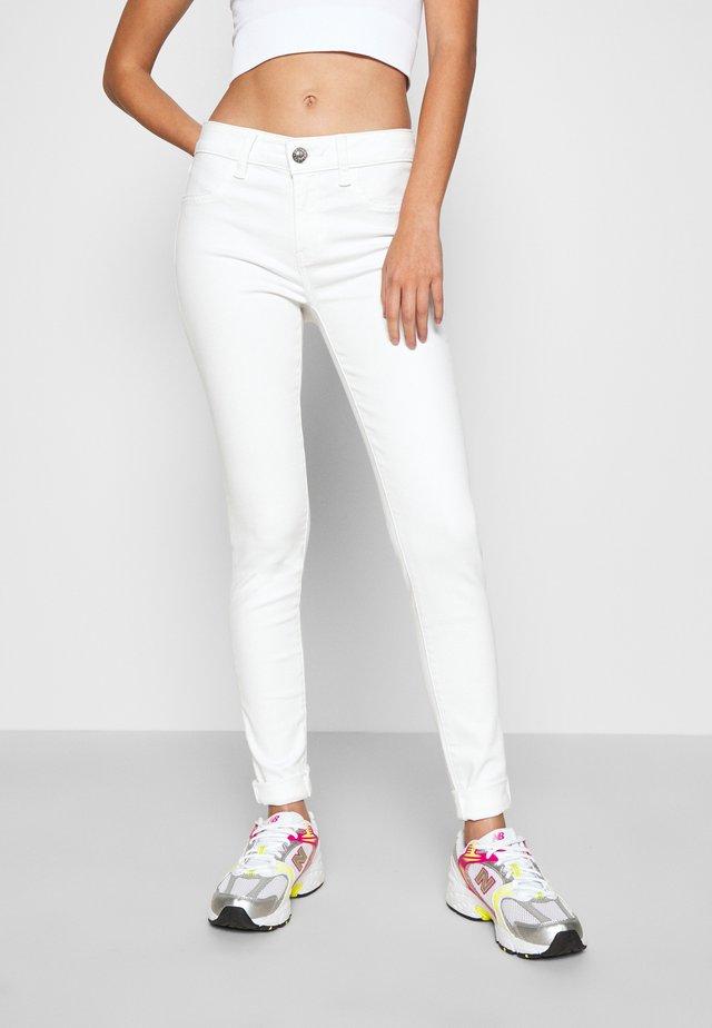 NEXT JEGGING - Jean slim - sparkle white