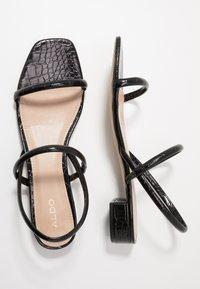 ALDO - CANDIDLY - Sandals - black - 3