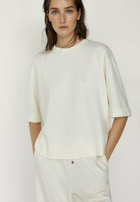 Massimo Dutti - Long sleeved top - white - 0