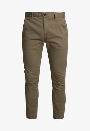 DRAKE - Chino kalhoty - vintage green