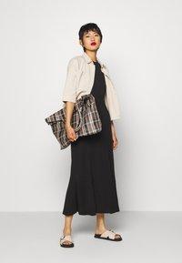 Weekday - TELMA DRESS - Maxi dress - black - 1