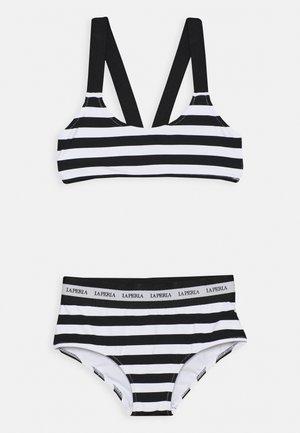 EVERYDAY SET - Bikini - bianco/nero