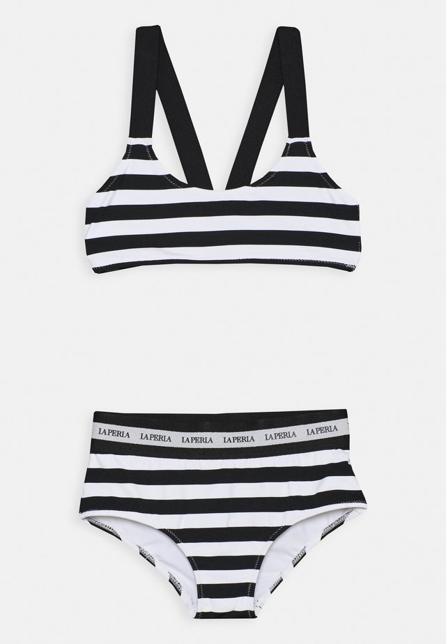 EVERYDAY - Bikini - bianco/nero
