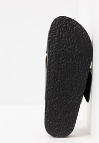 ONLY SHOES - ONLMATHILDA SLIP ON - Kapcie - dark green