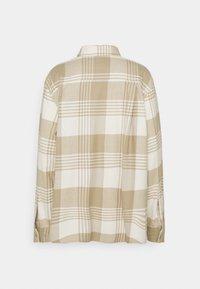 Weekday - BESS - Button-down blouse - beige - 7
