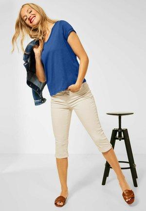 T SHIRT IM BASIC STYLE - Basic T-shirt - blau