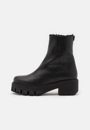 STIVALI BOOTS - Platform ankle boots - nero