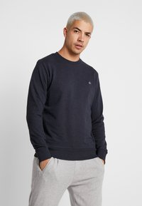 Jack & Jones - JORBASIC CREW NECK 2 PACK - Bluza - total eclipse - 1