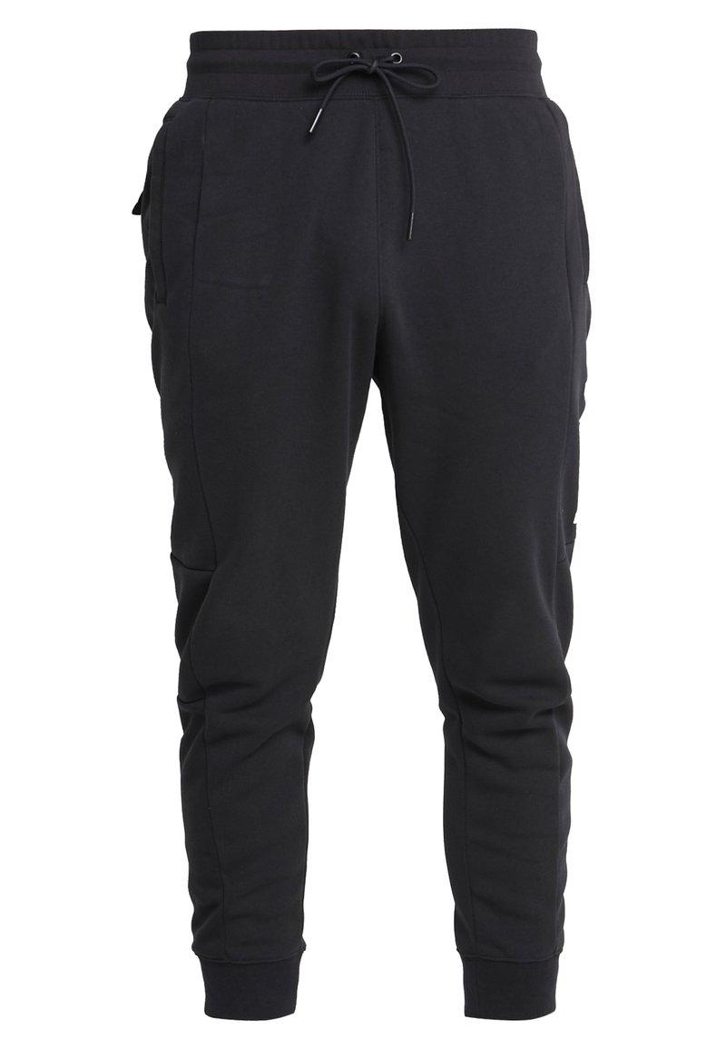 Nike Sportswear - M NSW NIKE AIR PANT FLC - Træningsbukser - black/university red