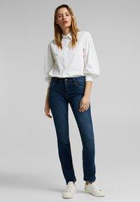 Esprit - Straight leg jeans - dark blue - 1
