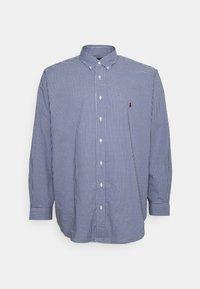 Polo Ralph Lauren Big & Tall - LONG SLEEVE SPORT SHIRT - Shirt - navy/white - 4