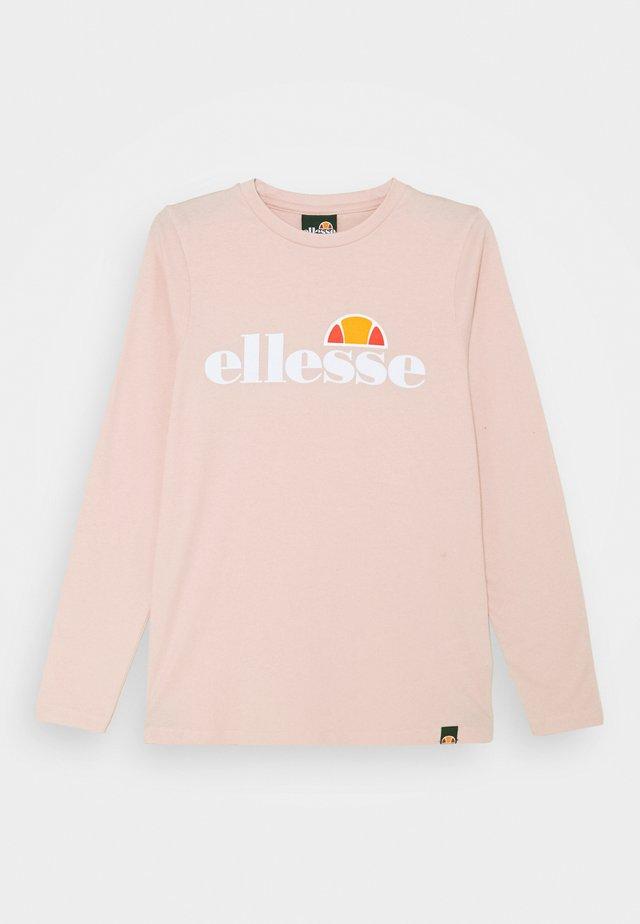 YANDIA UNISEX - Pitkähihainen paita - light pink