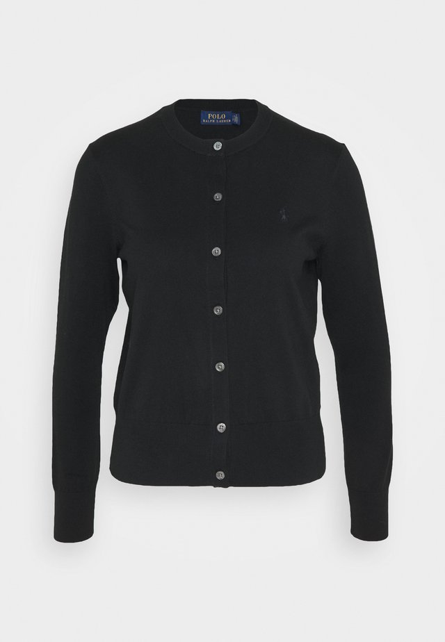 CARDIGAN LONG SLEEVE - Cardigan - black