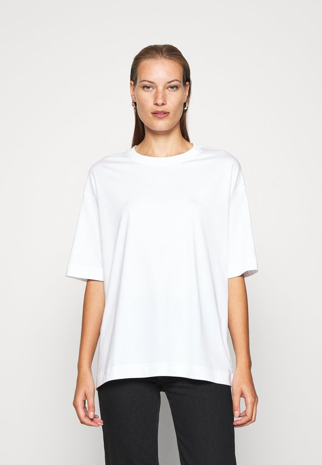 T-SHIRT - Basic T-shirt - white light