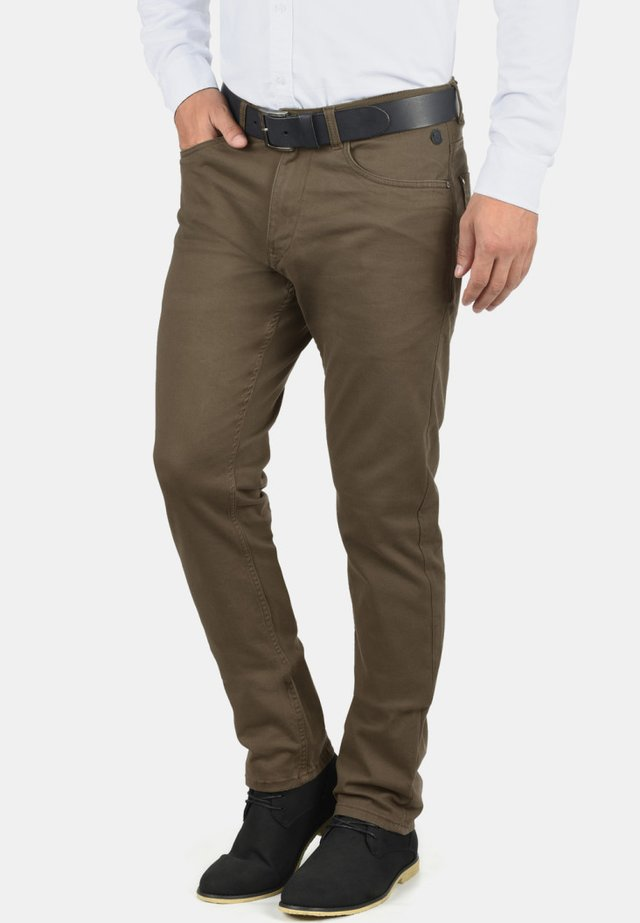 SATURN - Broek - mocca brown