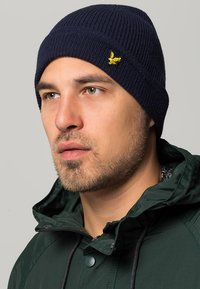 Lyle & Scott - RACKED BEANIE - Beanie - new navy - 0