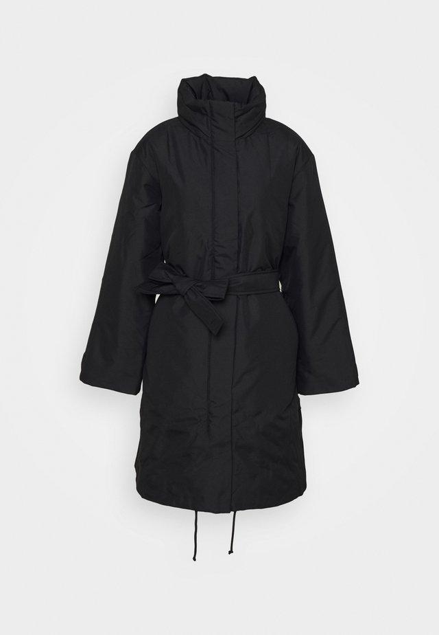 VIENNA PADDED COAT - Zimní kabát - black