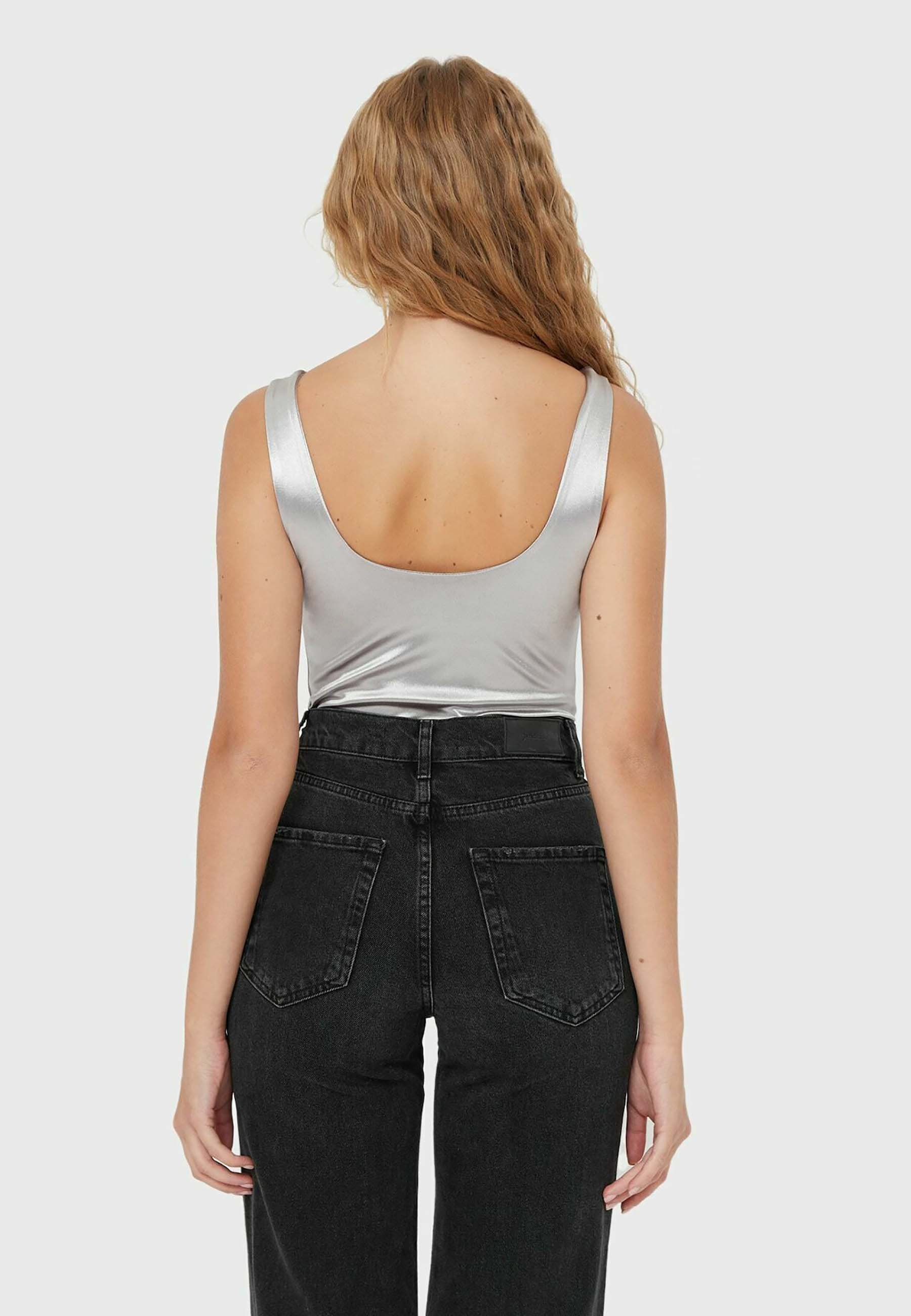 Damen BODY MIT METALLIC-FINISH  - Badeanzug