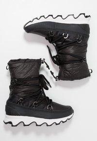 Sorel - KINETIC - Winter boots - black/white - 3