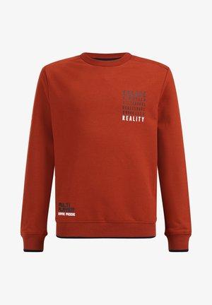 Sweatshirts - rust brown