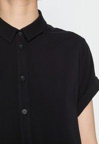 Samsøe Samsøe - MAJAN - Button-down blouse - black - 4