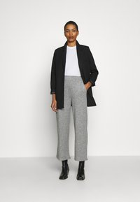 Zign - LOUNGE STRAIGHT PANT  - Bukser - mottled grey - 1