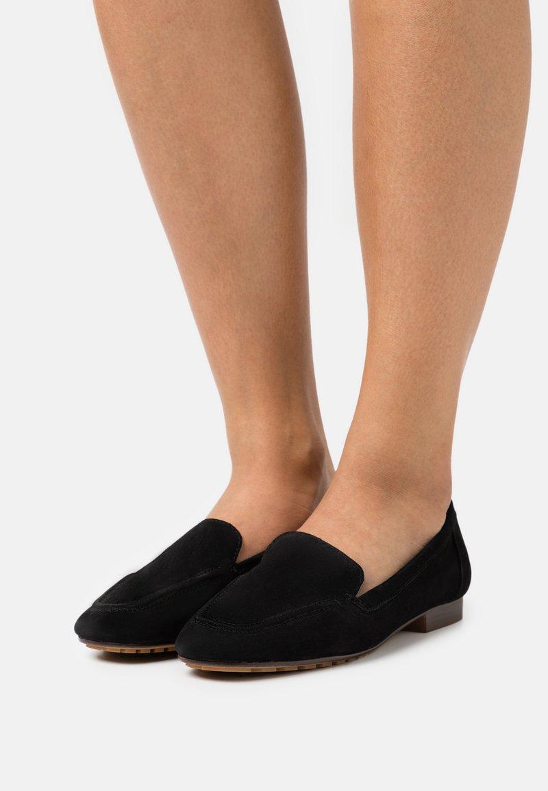 ALDO - PRELINDRA - Nazouvací boty - black