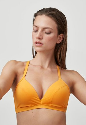 PANAMA - Bikini top - blazing orange