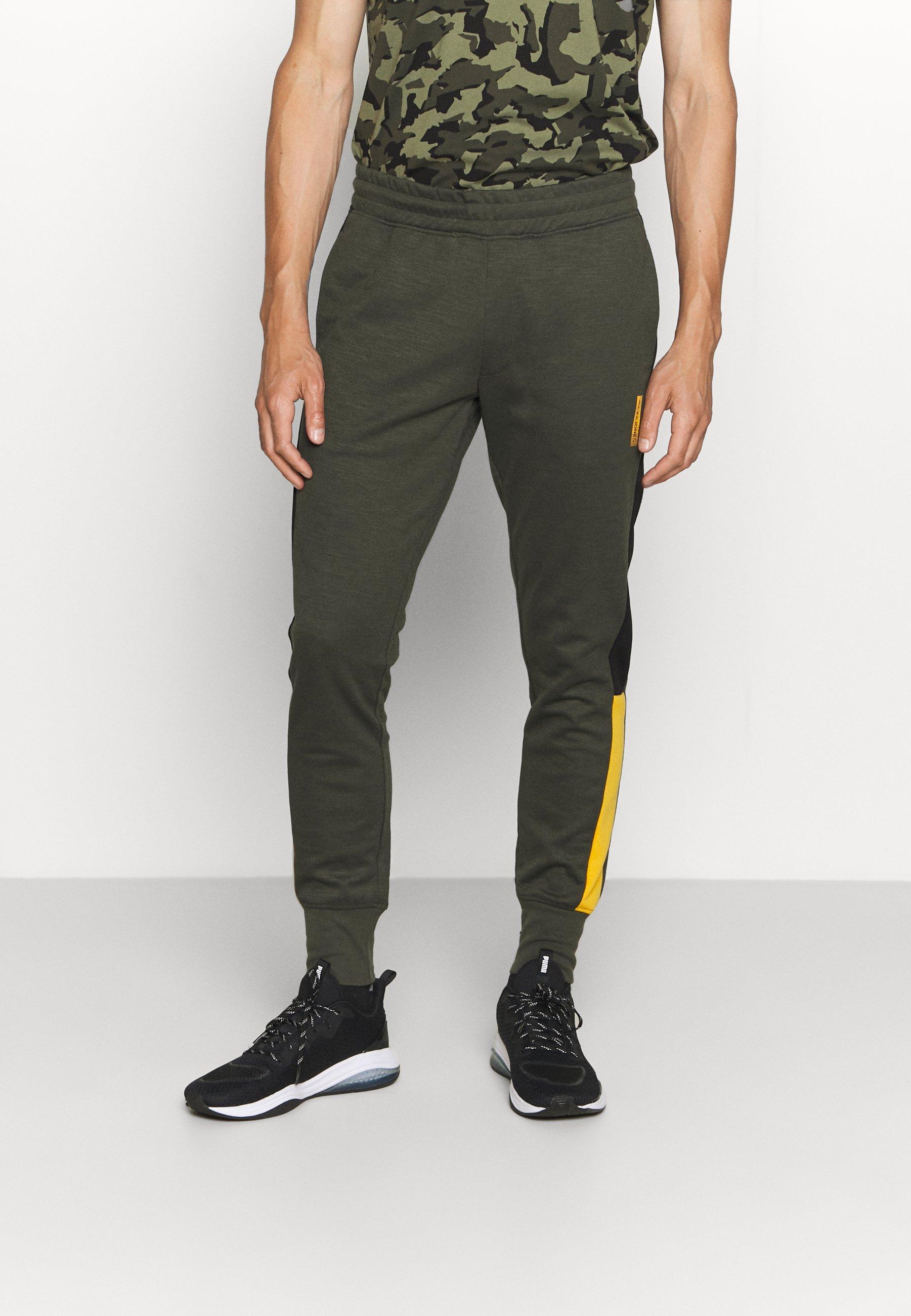 Homme JJIWILL ZSTRIPE PANTS - Pantalon de survêtement