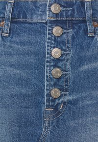 GAP Petite - MINI A LINE SKIRT - Mini skirt - medium indigo - 2
