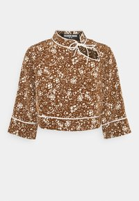 Fashion Union - IRIS TOP - Blouse - brown - 0