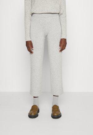LONG SWEATER PANT - Kalhoty - light grey