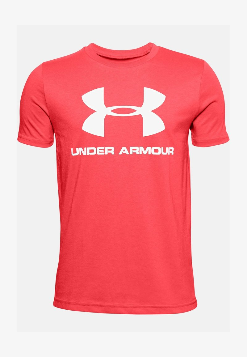 Under Armour - Print T-shirt - rush red