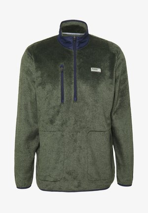 SHERPA ZIP - Sweat polaire - thyme