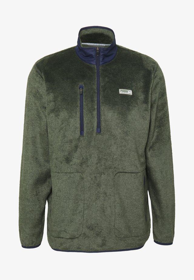 SHERPA ZIP - Bluza z polaru - thyme