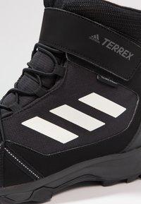 adidas Performance - TERREX SNOW CF UNISEX - Bottes de neige - core black/chalk white/grey four - 5