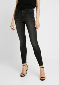 ONLY - ONLSHAPE DELUXE - Jeans Skinny Fit - black - 0