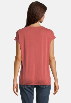 MIT GUMMIZUG - Basic T-shirt - barn red