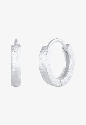 HOOPS BASIC SMALL - Pendientes - silber