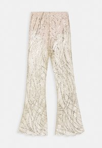 GLITTER TROUSERS - Bukse - gold