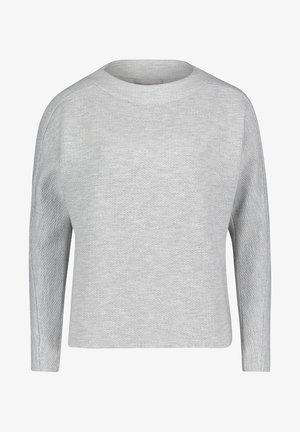 MIT STRUKTUR - Trui - grau weiß