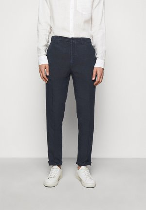 TROUSERS - Trousers - blue navy