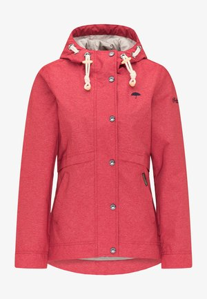 Outdoor jacket - red mixture