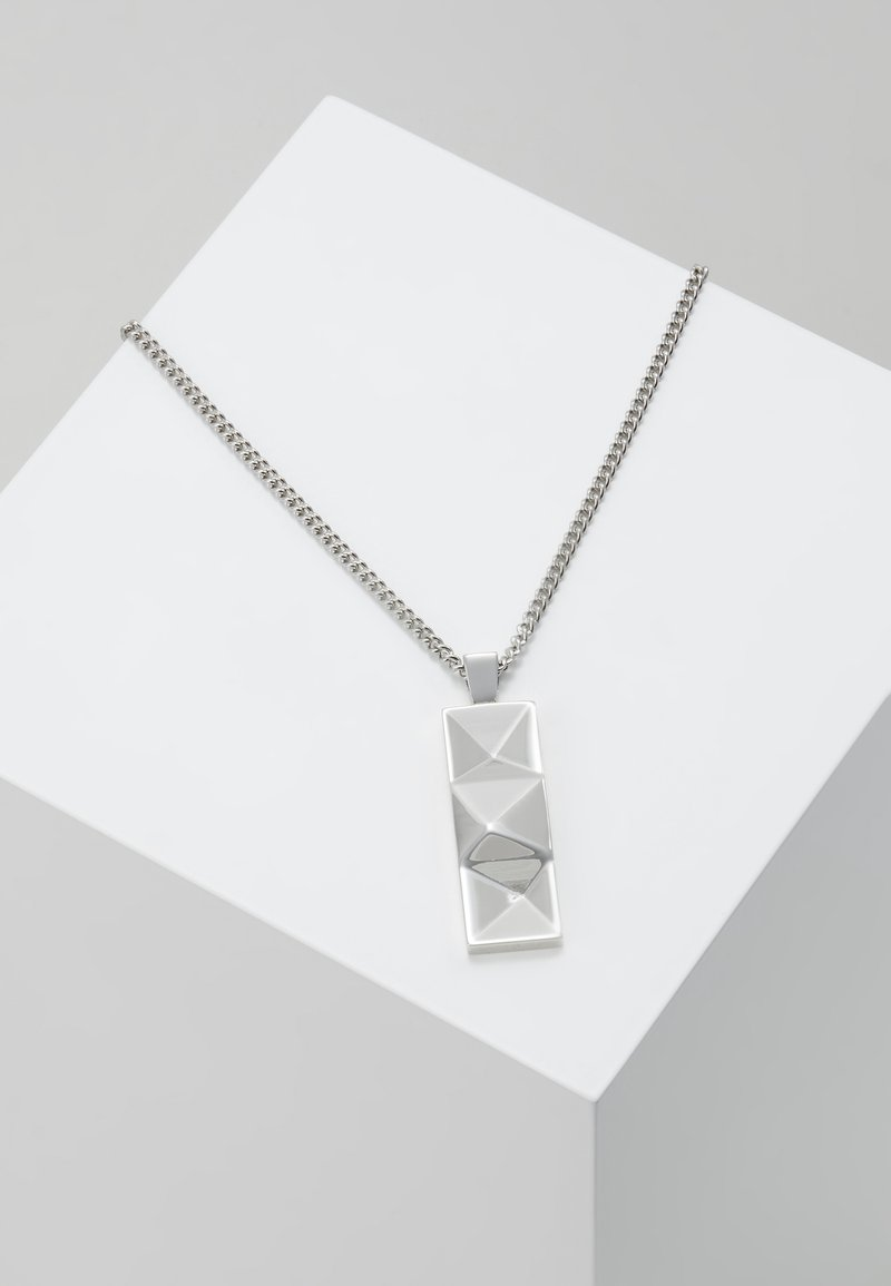Northskull - OUT TAG NECKLACE - Ketting - silver-coloured
