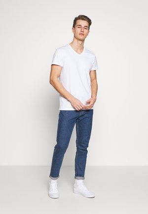 5 PACK - T-shirts basic - white/black