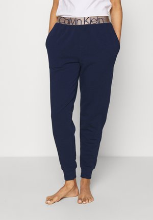 ICONIC LOUNGE - Pyjamasbukse - new navy