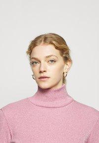 MM6 Maison Margiela - Long sleeved top - pink - 5