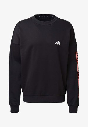 THE 3-STRIPES GRAPHIC SWEATSHIRT - Sweatshirt - black
