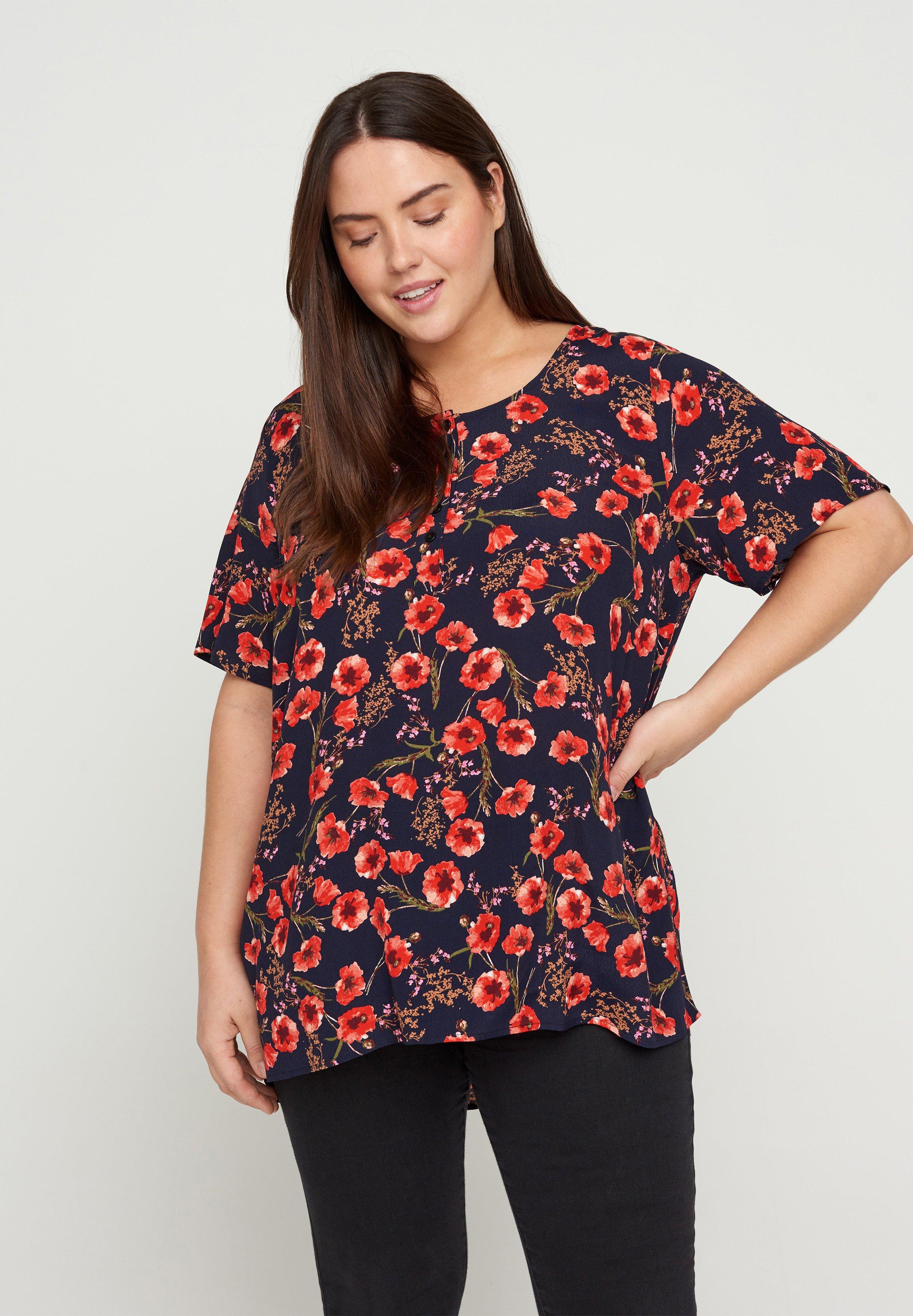Women VBELLA BLOUSE - Print T-shirt