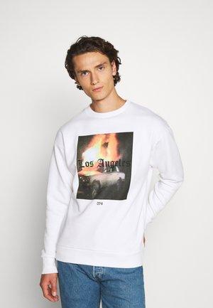 FLAME - Sweatshirt - white
